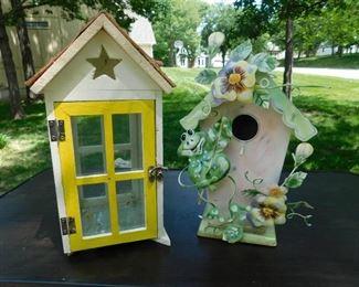 Decorative Bird Houses