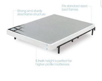 Zinus 5 Inch Low Profile Smart Box Spring, King