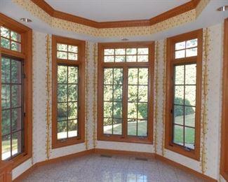 Solid Oak Casement Windows