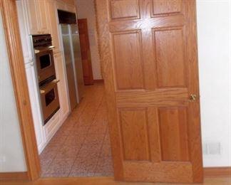 Solid Six Panel Oak Doors And Trim