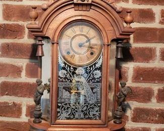 Antique Victorian Clock