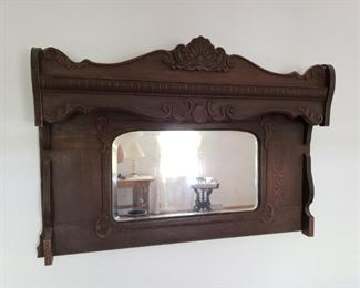 Mirror..repurposed from an organ.