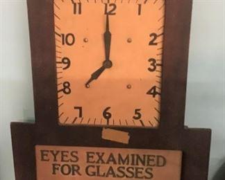 Vintage Advertising Clock