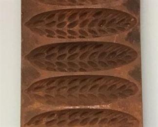 Rare A + B Cast Iron Mold