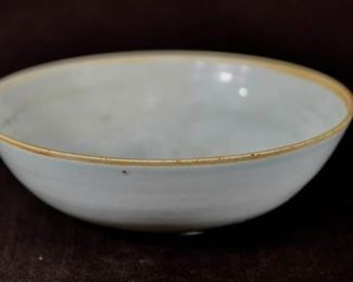 Chinese Qinbai Porcelain Bowl with Mold Design