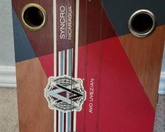 3-string cigar box guitar