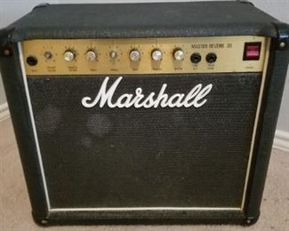 Marshall Master Reverb 30 guitar amplifier. As is, not fully functional but does power up.