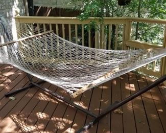 Hammock and stand