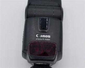 Canon Speedlte 430EX shoe mount flash