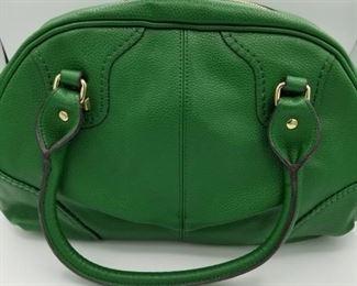Kate Landry kelly green handbag