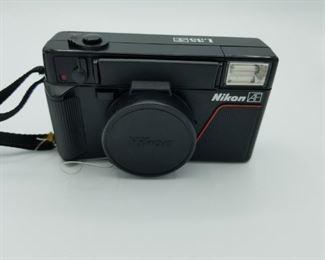Nikon L35 35mm point and shoot camera
