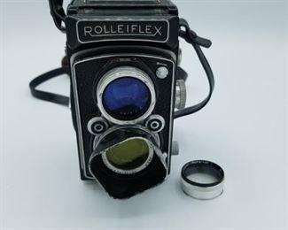 Rolleiflex camera