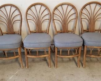 Rattan chairs - set of 4