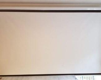 "Homegear 110"" diagonal projection screen (2 identical)"
