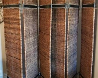 Two 3-panel room dividers