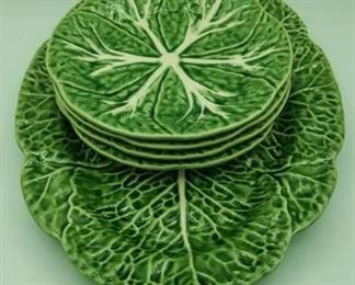 Bordallo Pinheiro plates