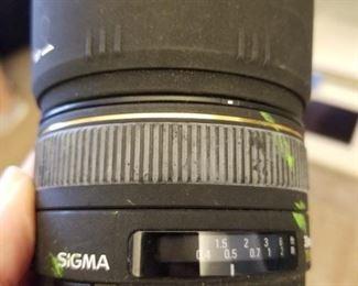 Sigma 30mm 1:1.4 lens