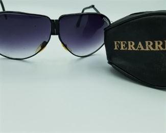 Ferrari folding sunglasses