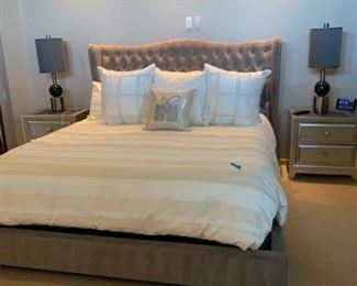 King bed from Z Gallerie