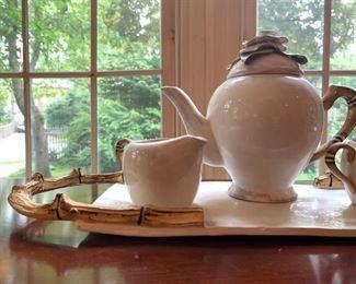 Tea Set from B Ware Malibu