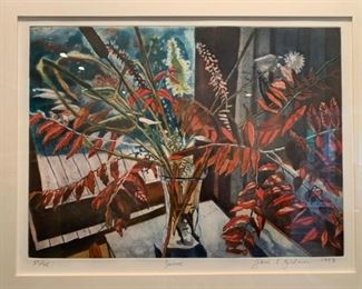 Jane E Goldman, Signed Print