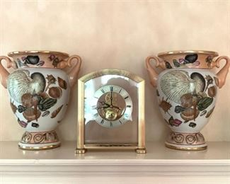 Seiko Brass Mantle Clock