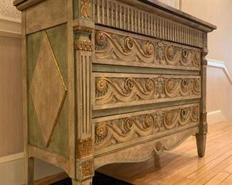 Widdicomb Furniture Gilt Accented Chest