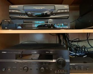 Yamaha Receiver RX V750, Pioneer DVD Player DV 45A, Prosolutions SE4