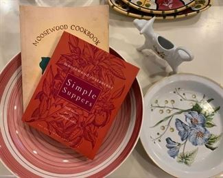 Moosewood, Spode Stafford Flowers Pie Plate
