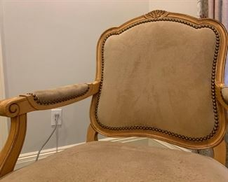 Armchair, with Nail Head Deatail