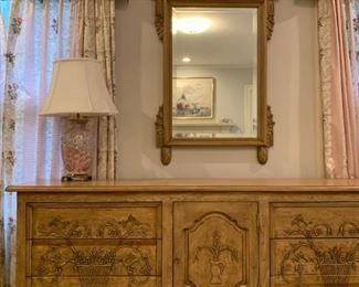 Lexington Furniture Chest with Mirror