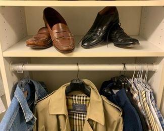Men's Clothing, Burberry Trench Coat