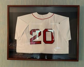 Boston Red Sox Kevin Youkilis Autographed Jersey