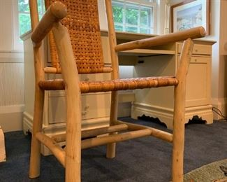 Cane Seat and Back Armchair