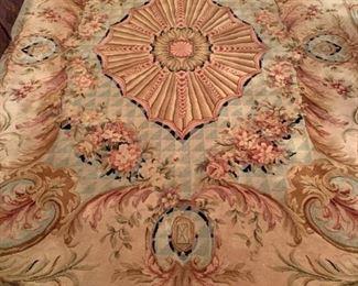 Chinese Wool Rug, 7 x 9