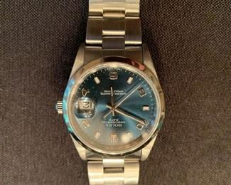 Men's Rolex Oyster Perpetual Date