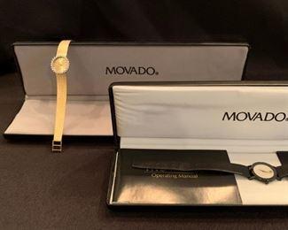 14K Movado Women's Watch