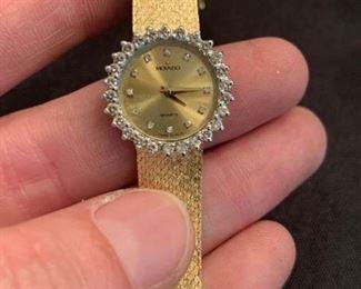 14K Woman's Movado Watch