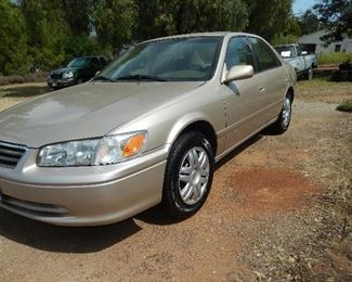 2001 Camry low miles