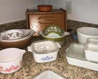 Vintage Pyrex and Corning