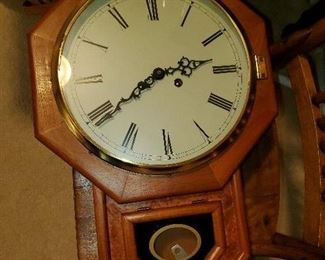 several clocks with keys, most are not running great