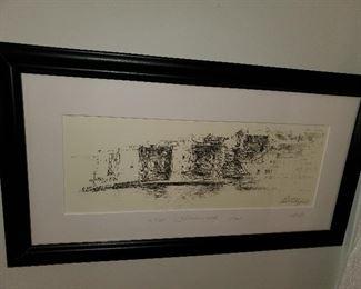 Signed/numbered artwork