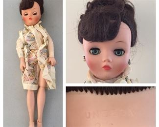 Vintage Uneeda 2 S Jointed Doll