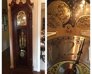 Beautiful Sligh Grandfather Clock