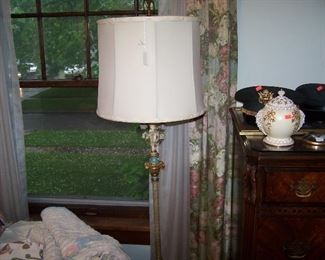ORNATE 1930s FLOOR LAMP