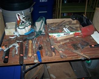 HAND TOOLS & MISC.