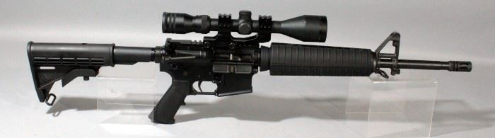 Bushmaster Firearms Model XM15-E2S .223-5.56mm Rifle SN# BK1609999 With 40 Round Mag And Simmons 3-10x44 Wide Angle Scope