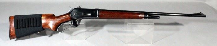 Winchester Model 71 348 W.C.F. Lever Action SN# 32708 With Elastic Bandolier