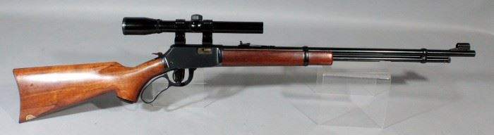 Winchester Model 9422 XTR Classic .22SL Or LR Lever Action Rifle SN# F573311 With Bushnell Banner .22 Scope
