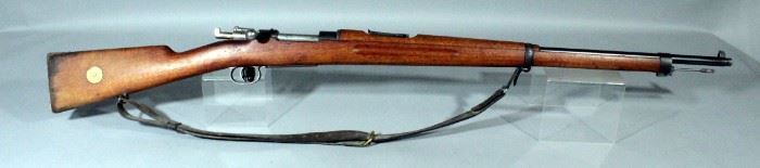 Carl Gustafs Stads Gevarsfaktori M96 Swedish Mauser 1905 6.5x55mm Rifle SN# JV172766 With Leather Sling